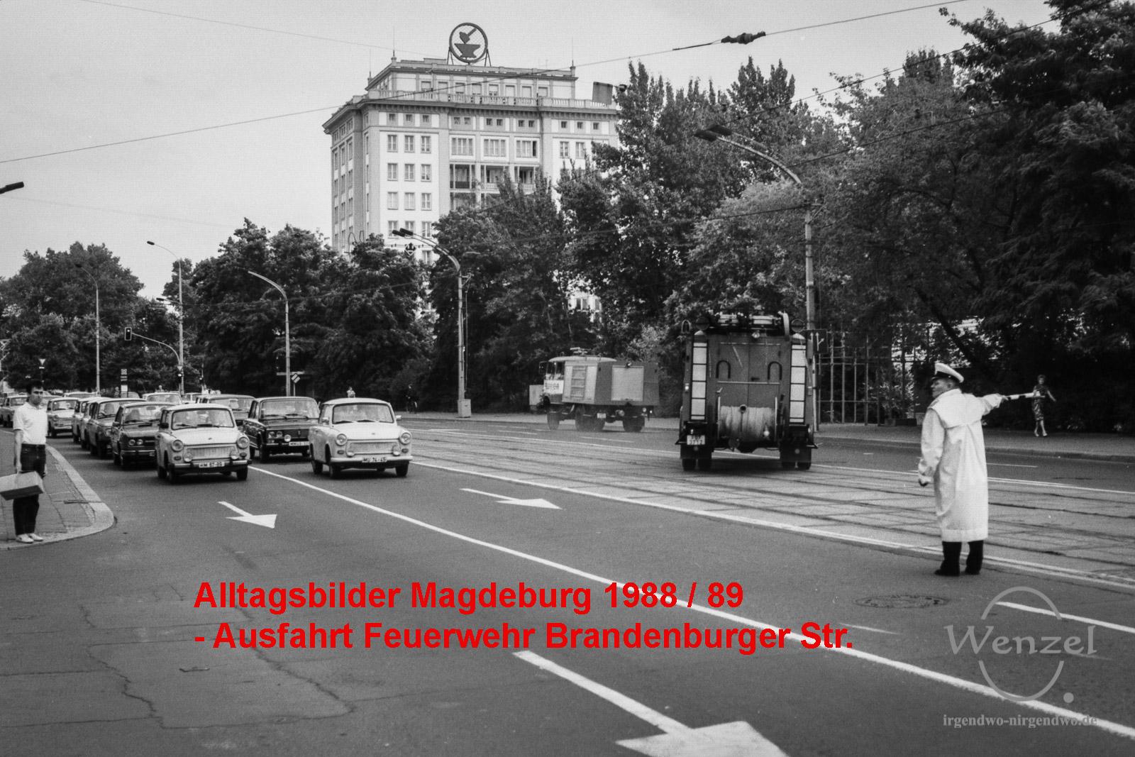 Stadtverkehr - Magdeburg 1989/90