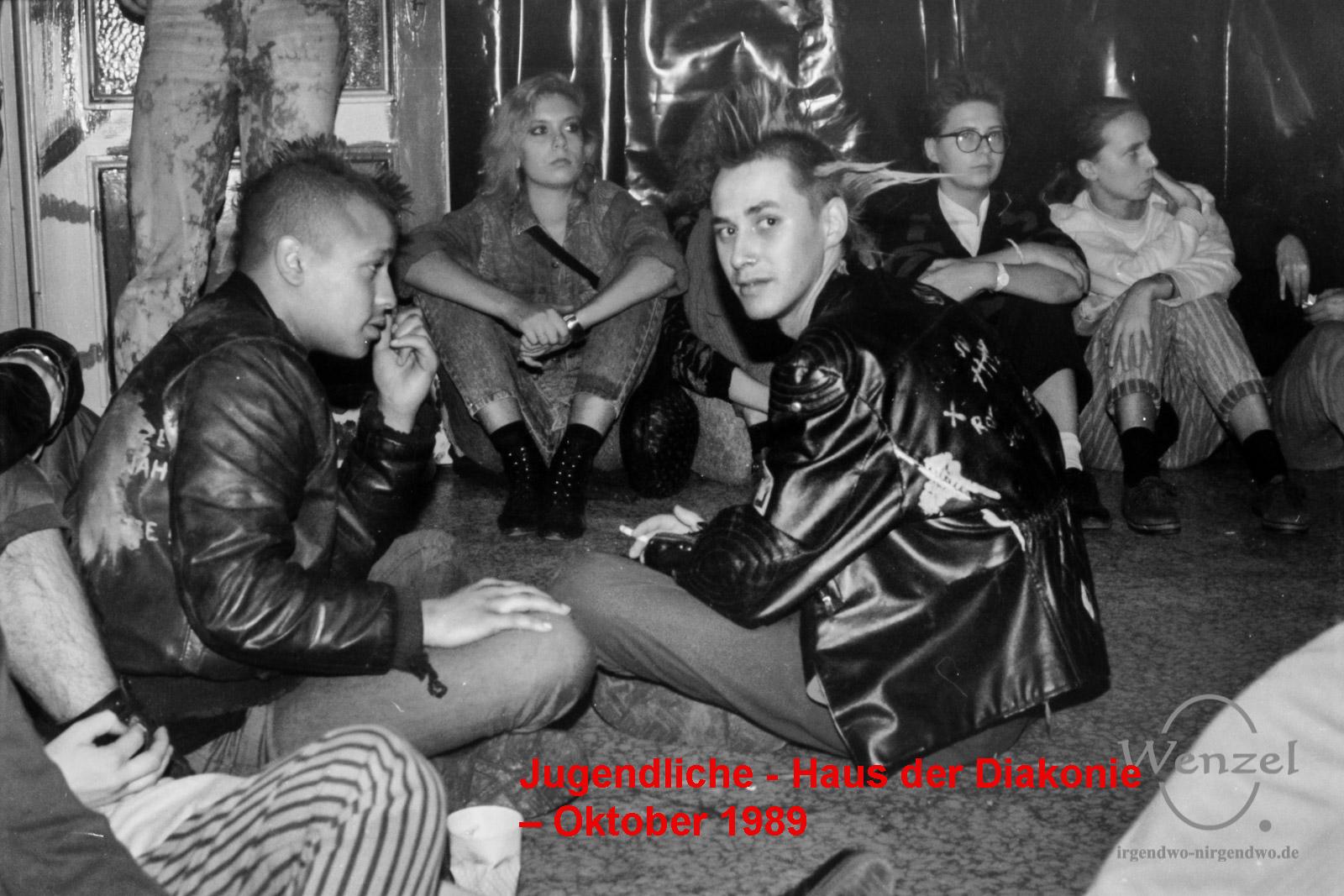 Punks - Offene Arbeit - 1989